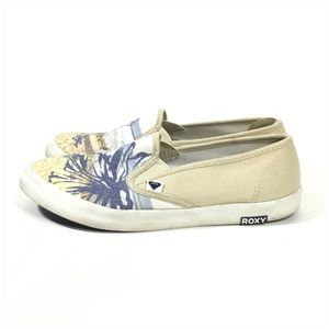 Roxy Shoes - Roxy Redondo II Shoe - Off White Size 8.5